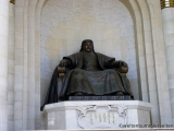 Suechbataar Platz - Dschingis Khan Denkmal