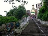Affentempel, 365 Stufen nach oben