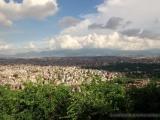 Blick vom Affentempel auf Kathmandu