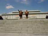 Grossmonument Mansudae - Bronzestatuen