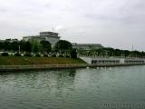 Blick auf das Mausoleum
