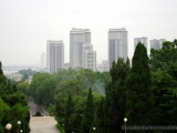 Blick auf das Kwangbok Wohnviertel