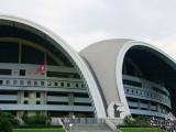 Stadion 1. Mai - das zweitgroesste Stadion der Welt