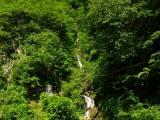 Wasserfall im Kumgang Gebirge
