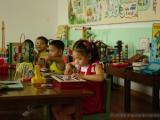Spielend lernende Kinder