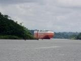 Fahrt auf dem Panamakanal
