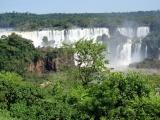 Iguazu Wasserfaelle in Brasilien