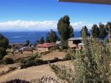 Amantani, Blick auf den Titicacasee