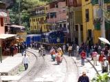 Zug nach Aguas Calientas