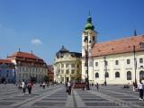 Platz im Zentrum von Sibiu