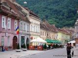 Strasse in Brasov