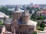 Blick auf Bukarest