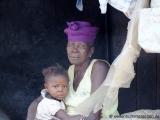 Grossmutter mit Enkelin