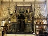 Sevilla - In der  Kathedrale - Grab von Kolumbus