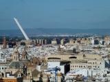 Blick ueber Sevilla