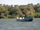 Bootsfahrt ueber den Nil
