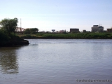 Zusammenfluss von weissem und blauem Nil