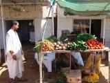 Gemueseverkauf an der Strasse