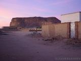 Jebel Barkal in der Morgendaemmerung