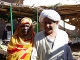 Markt - Haendler mit seiner Frau