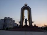 Duschanbe Somonij-Monument