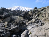 Noerdliche Gletscher des Kibo