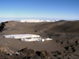 Gletscher auf dem Kibo
