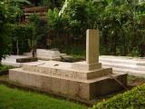 Friedhof im Garten