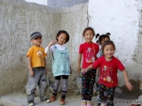 Kinder in Shigatse