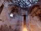 Armenische Kirche in den Bergen von Van