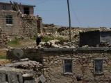 Kurdisches Dorf in den Bergen