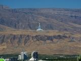 Aschgabat mit TV Turm und Indoorriesenrad