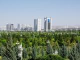 Aschgabat Blick zum Aussenministerium