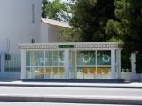Aschgabat Klimatisierte Bushaltestelle
