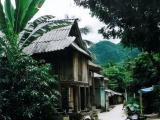 Thai-Dorf in den Bergen