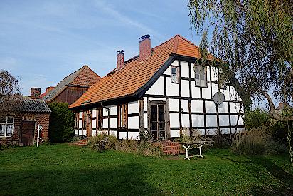 Kapitänshaus in Altwarp