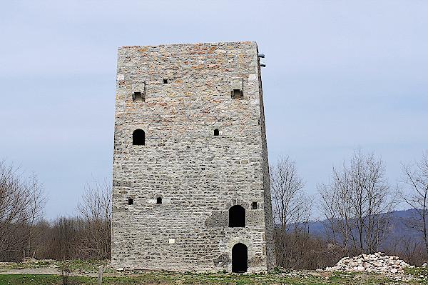 Inguschetien-Wohnturm