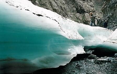Gletscher-in-der-Geierschlucht