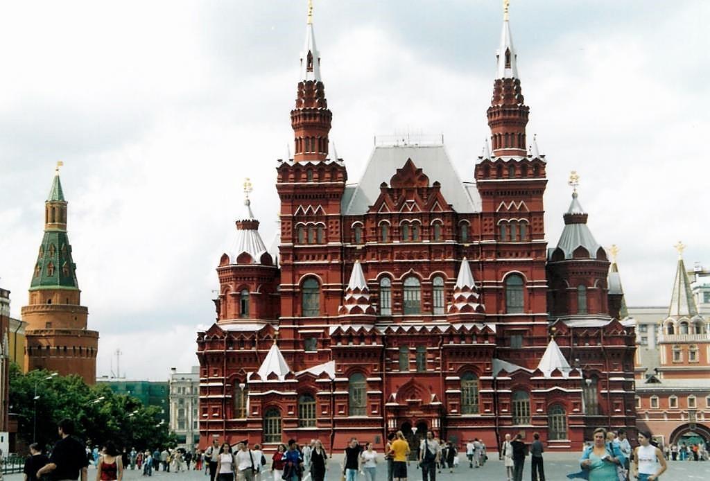 Roter-Platz-Historisches-Museum-Russland