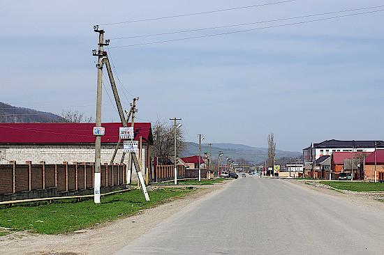 Inguschetien-Dorf