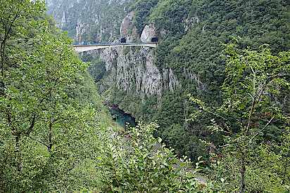 Montenegro-Piva-Schlucht