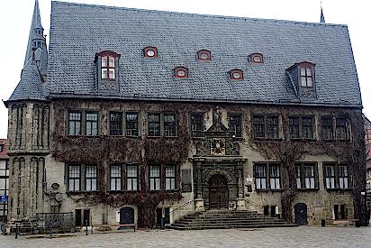 Rathaus in Quedlinburg