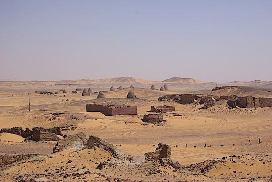Alt-Dongola-Pyramiden