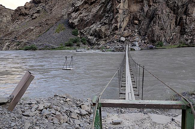 Tadschikistan-Fluss-Bartang