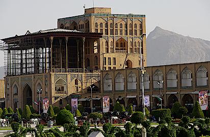 Isfahan-Ali-Qapu-Palast