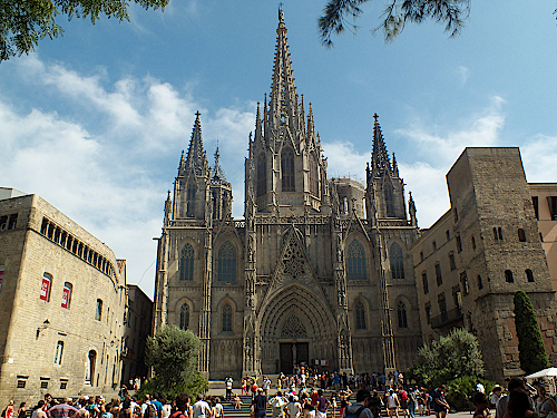Barcelona-Kathedrale
