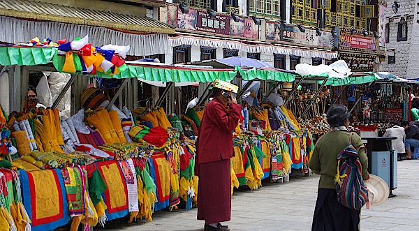 Lhasa-Barkhor-Markt