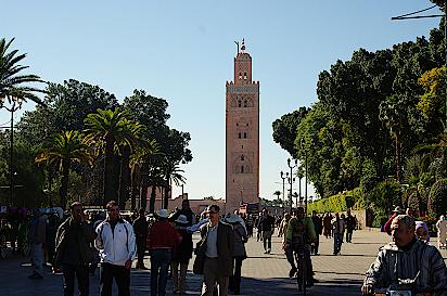 Marrakesch-Kutubiya-Moschee