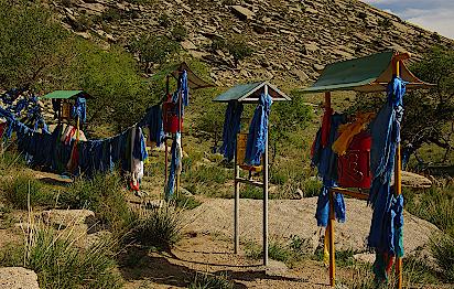 Mongolei-Nomaden-Heilige-Staette