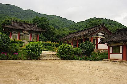 Nordkorea-Tempel